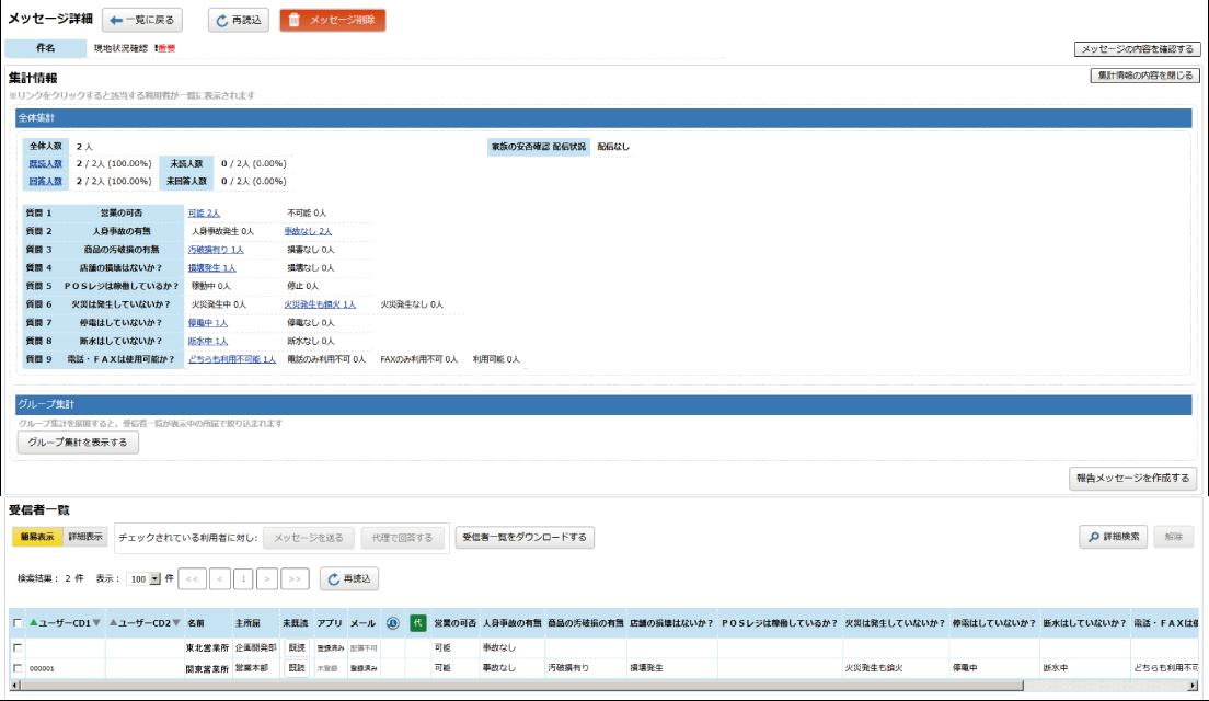 パソコン管理画面イメージ
